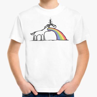 Детская футболка Единорог устал