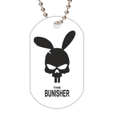 Жетон dog-tag The bunisher
