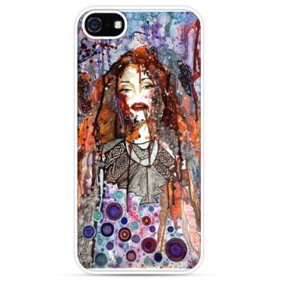 Чехол для iPhone 'Психоделика'