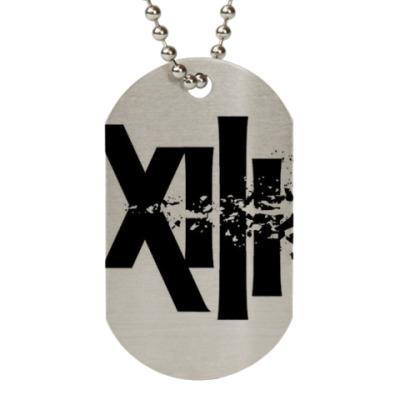 Жетон dog-tag XIII; the series