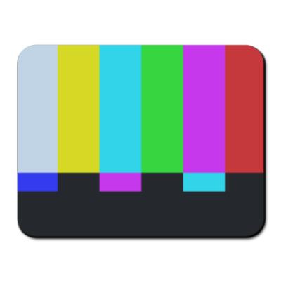 Коврик для мыши принт Шелдона 'TVbars'