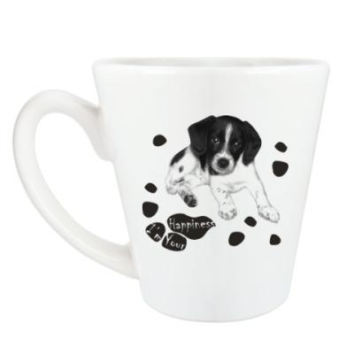 Чашка Латте Милый пёсик