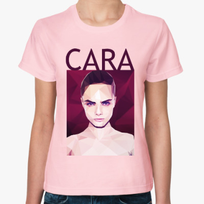 Женская футболка Кара Делевинь
