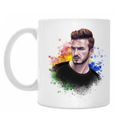 Кружка David Beckham Football Дэвид Бекхэм