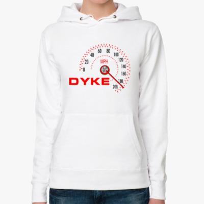 Женская толстовка худи Dyke