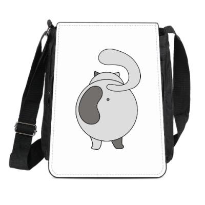 Сумка-планшет Коты