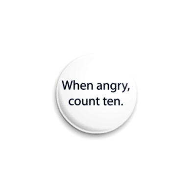 Значок 25мм самоконтроль