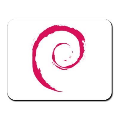 Коврик для мыши Debian