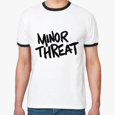 Футболка Ringer-T  Minor Threat