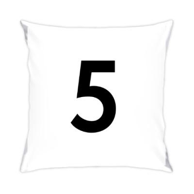 Подушка Цифра 5