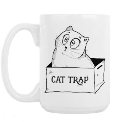 Кружка Ловушка для кота