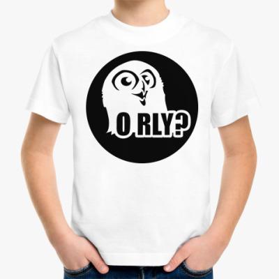 Детская футболка orly?