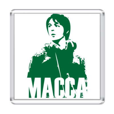 Магнит  The Beatles -Paul Macca