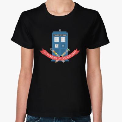 Женская футболка TARDIS