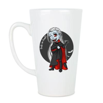 Чашка Латте Вампир