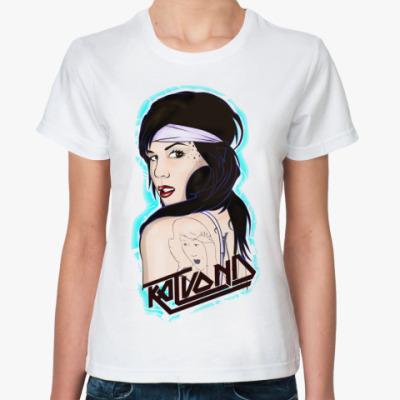 Классическая футболка Кэт