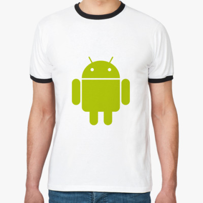 Футболка Ringer-T  Android