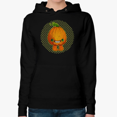 Женская толстовка худи Mr. Pumpkin / Мистер Тыква