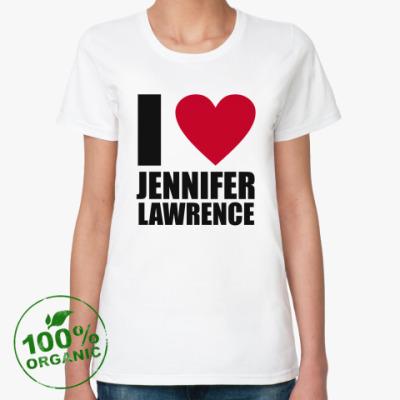 Женская футболка из органик-хлопка Голодные Игры