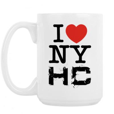 Кружка I love NYHC