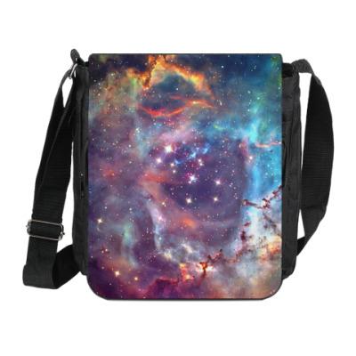 Сумка на плечо (мини-планшет) Космос Universe