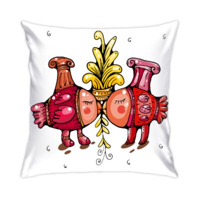 Подушка Влюбленные