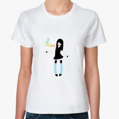 Классическая футболка Lilu