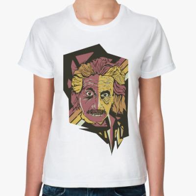 Классическая футболка Эйнштейн