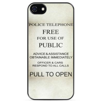 Чехол для iPhone Police Box Tardis