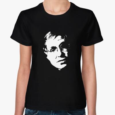 Женская футболка Стивен Уильям Хокинг