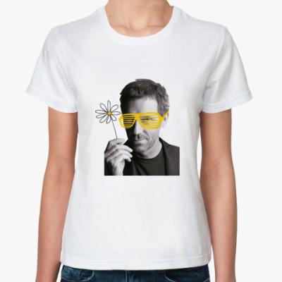Классическая футболка Хаус романтик