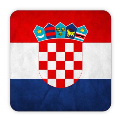 Костер (подставка под кружку) Хорватия