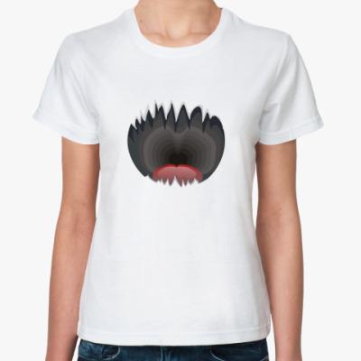 Классическая футболка  Jaws