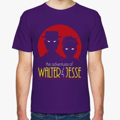 Футболка Уолтер и Джесси