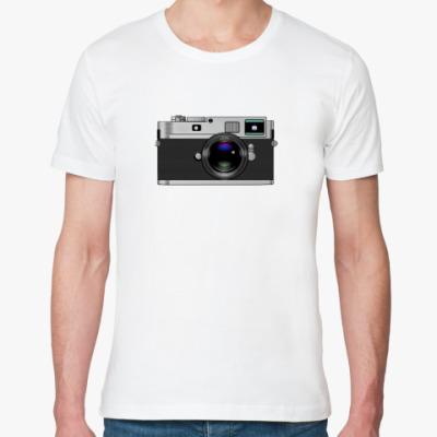 Футболка из органик-хлопка Photo camera