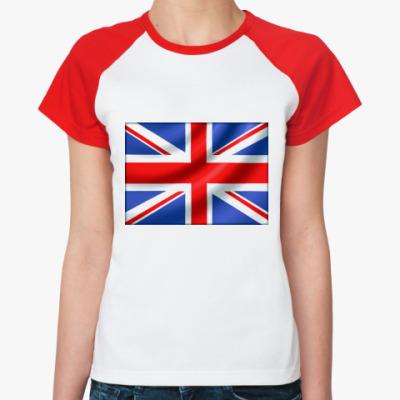 Женская футболка реглан UK