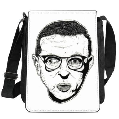 Сумка-планшет Жан-Поль Сартр