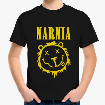 Детская футболка  Narnia/Nirvana