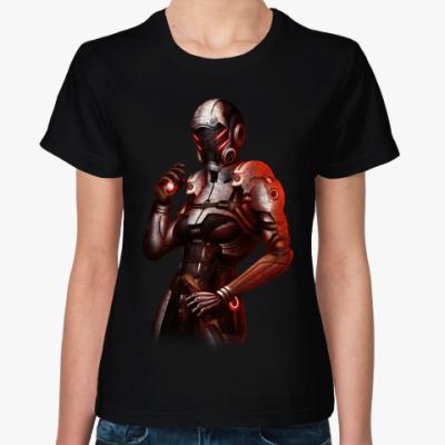 Женская футболка Mass Effect 3 Фантом Цербера