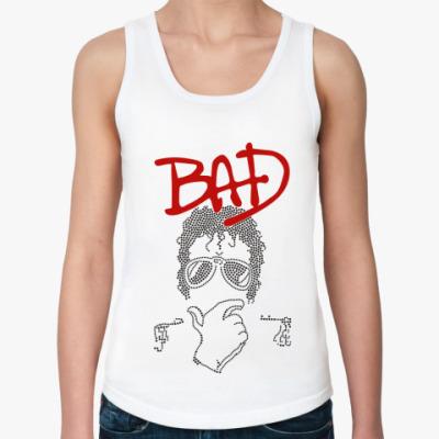 Женская майка MJ Bad