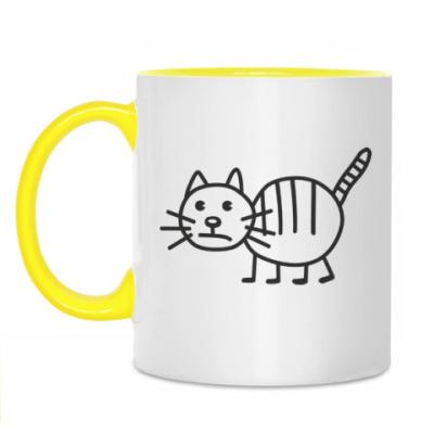 Кружка Рисунок кота