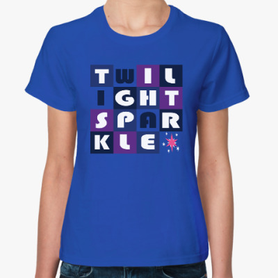Женская футболка Пони Твайлайт Спаркл