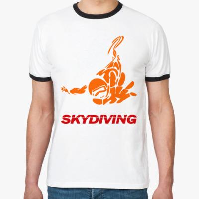 Футболка Ringer-T SKYDIVING