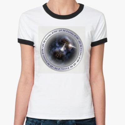 Женская футболка Ringer-T Zodiaс