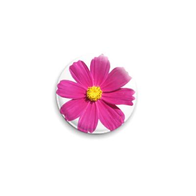 Значок 25мм Яркий цветочек
