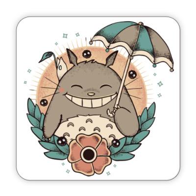 Костер (подставка под кружку) Smile Totoro