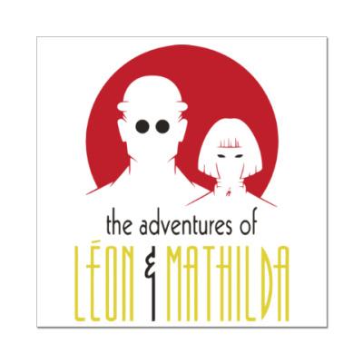 Наклейка (стикер) Леон и Матильда