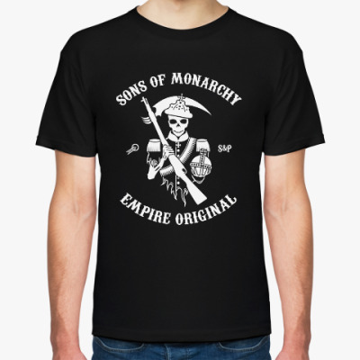 Футболка Мужская футболка Hanes Organic Sons of Monarchy
