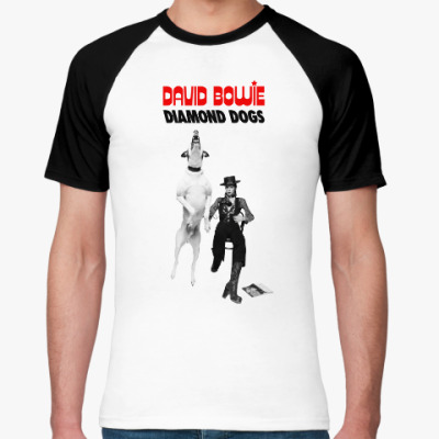 Футболка реглан David Bowie Diamond Dogs