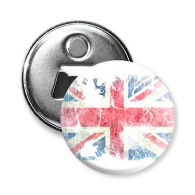 Магнит-открывашка British flag